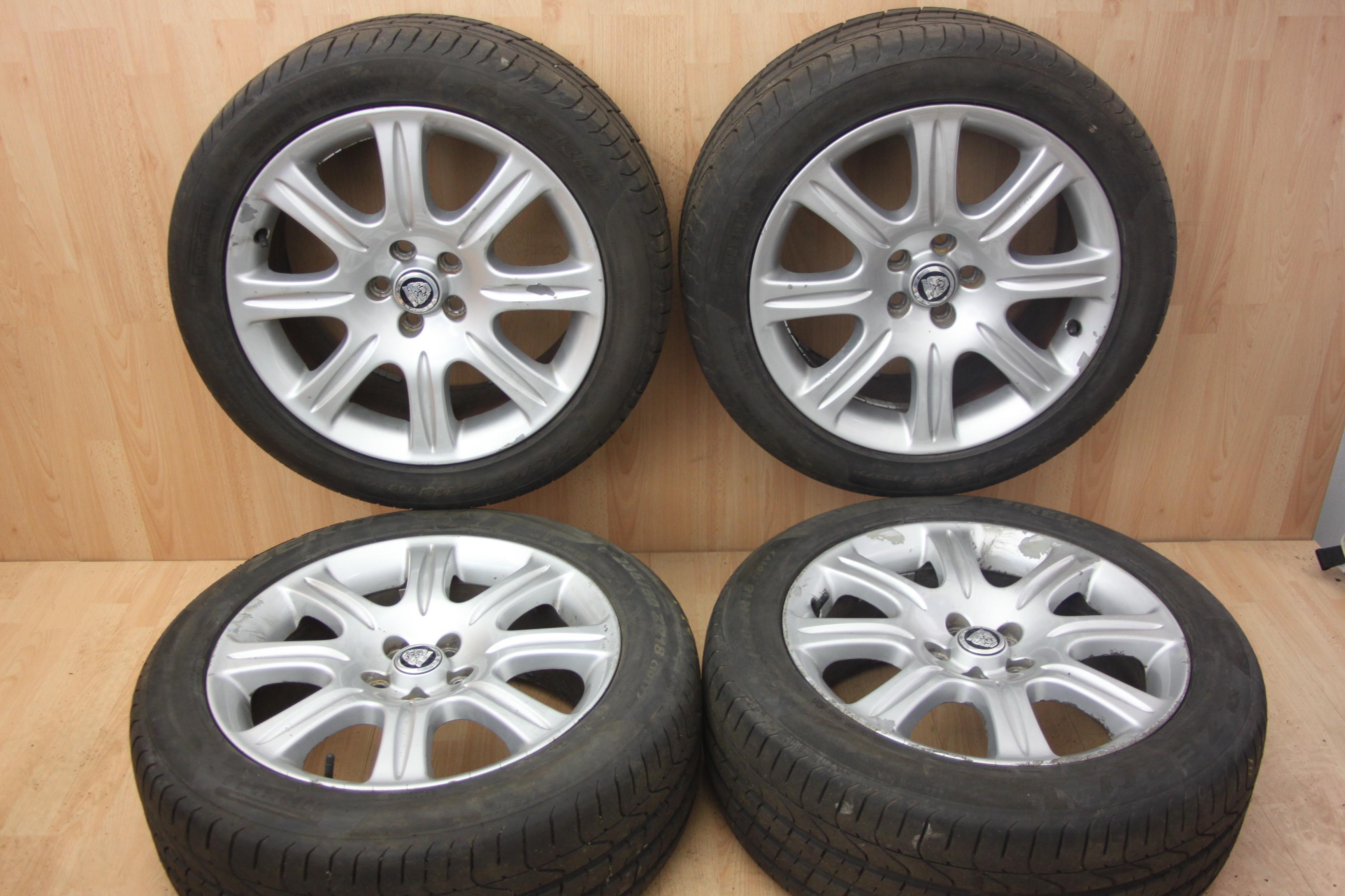 mint f ebay wheels pace itm silver finish jaguar condition razor spoke twin